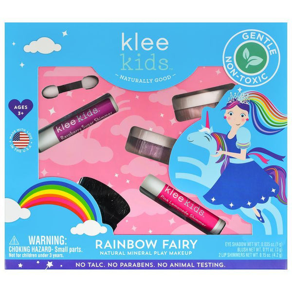 Rainbow Fairy Natural Mineral Play Makeup Set