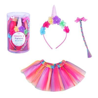 Unicorns & Rainbows Dress Up Set