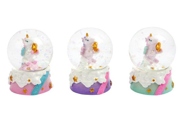 Mini Unicorn Glass Snow Globe - the unicorn store