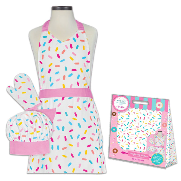 Sprinkles Kids Apron Set