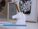 Unicorn Pencil Holder - With Colored Pencils
