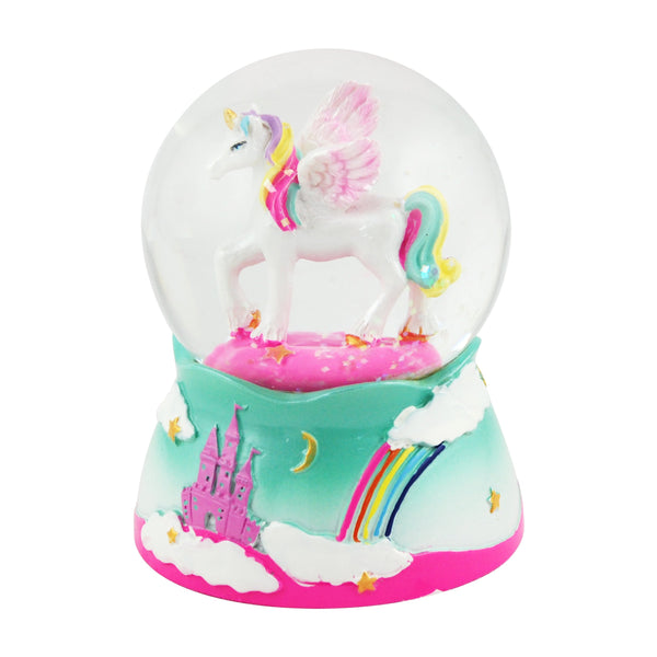 Unicorn Mini Snow Globe