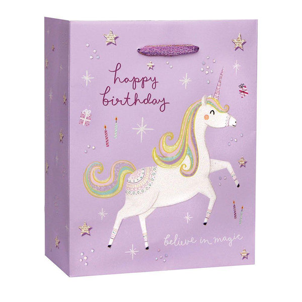 Fantastical Birthday Small Gift Bag - the unicorn store