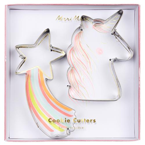 Star & Unicorn Cookie Cutters - the unicorn store
