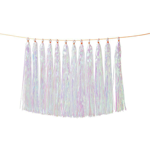 Iridescent Tassel Garland - the unicorn store