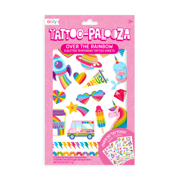 Tattoo-Palooza Temporary Tattoo Sheets