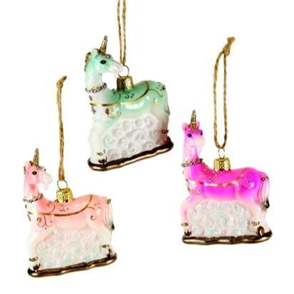 Tiny Unicorn Ornament - the unicorn store