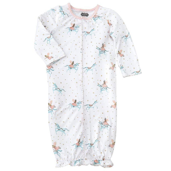 Unicorn Newborn Convertible Sleeper Gown - the unicorn store