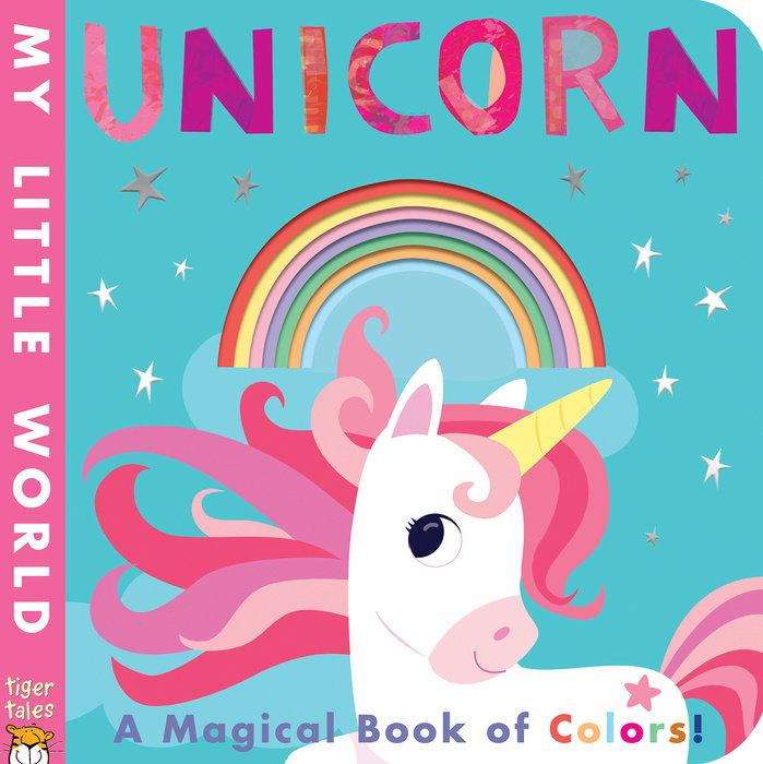 Unicorn Board Book of Colors