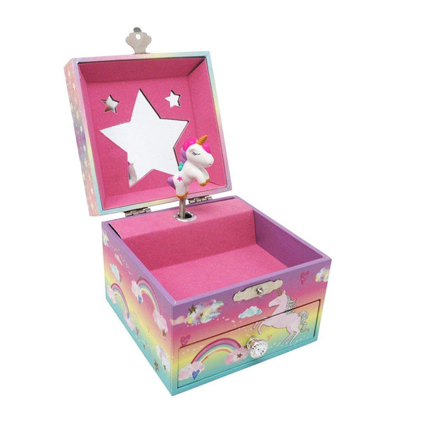 Cotton Candy Dreams Musical Jewelry Box