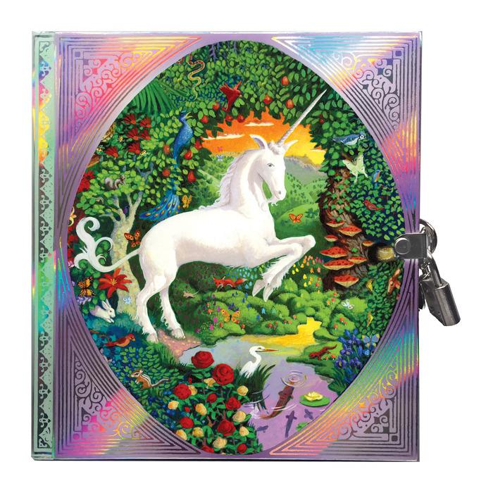 Unicorn Lock Diary