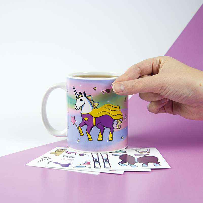 Unicorn Dress Up Mug - the unicorn store