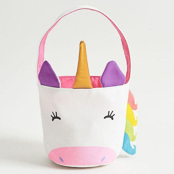 Unicorn Easter Basket Tote