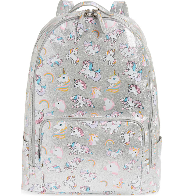 Glitter Unicorn Backpack by Bari Lynn - Full Size