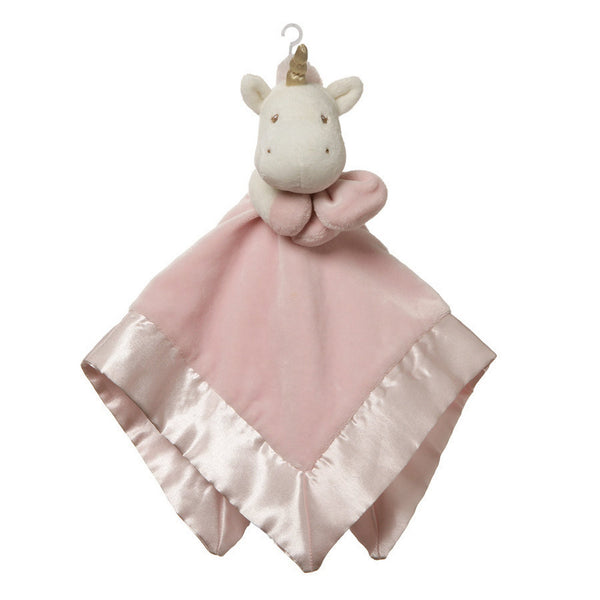 Unicorn Lovey Security Blanket