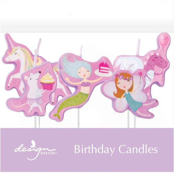 Fantastical Birthday Candles - the unicorn store
