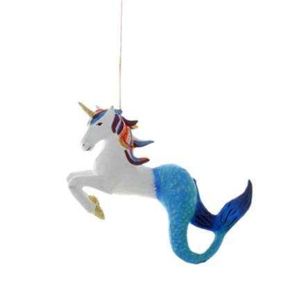 Unicorn Mermaid Ornament