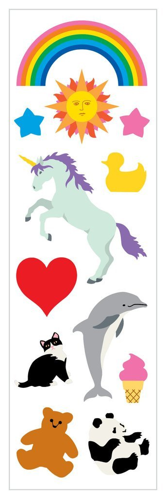 Unicorn Nostalgic Classics Stickers