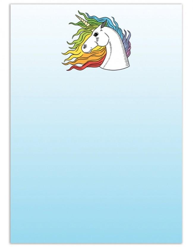 Unicorn Notecards - Set of 8