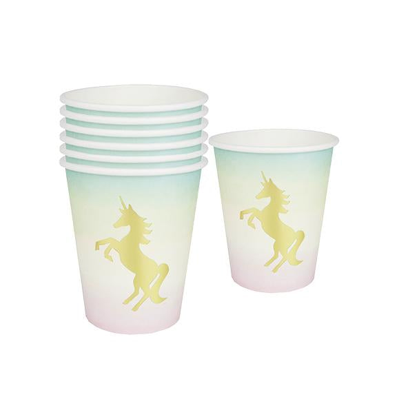 We Heart Unicorns Paper Cups - Set of 12