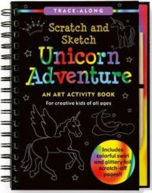 Unicorn Adventure Scratch and Sketch Book - the unicorn store