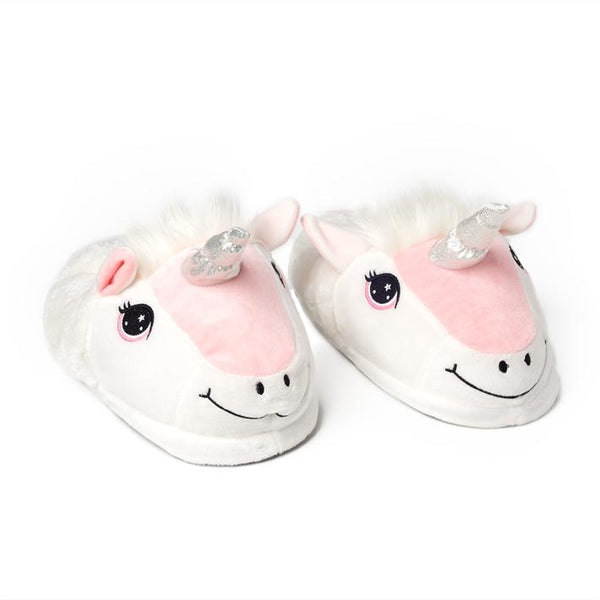 Happy Unicorn Slippers - Children's Sizes