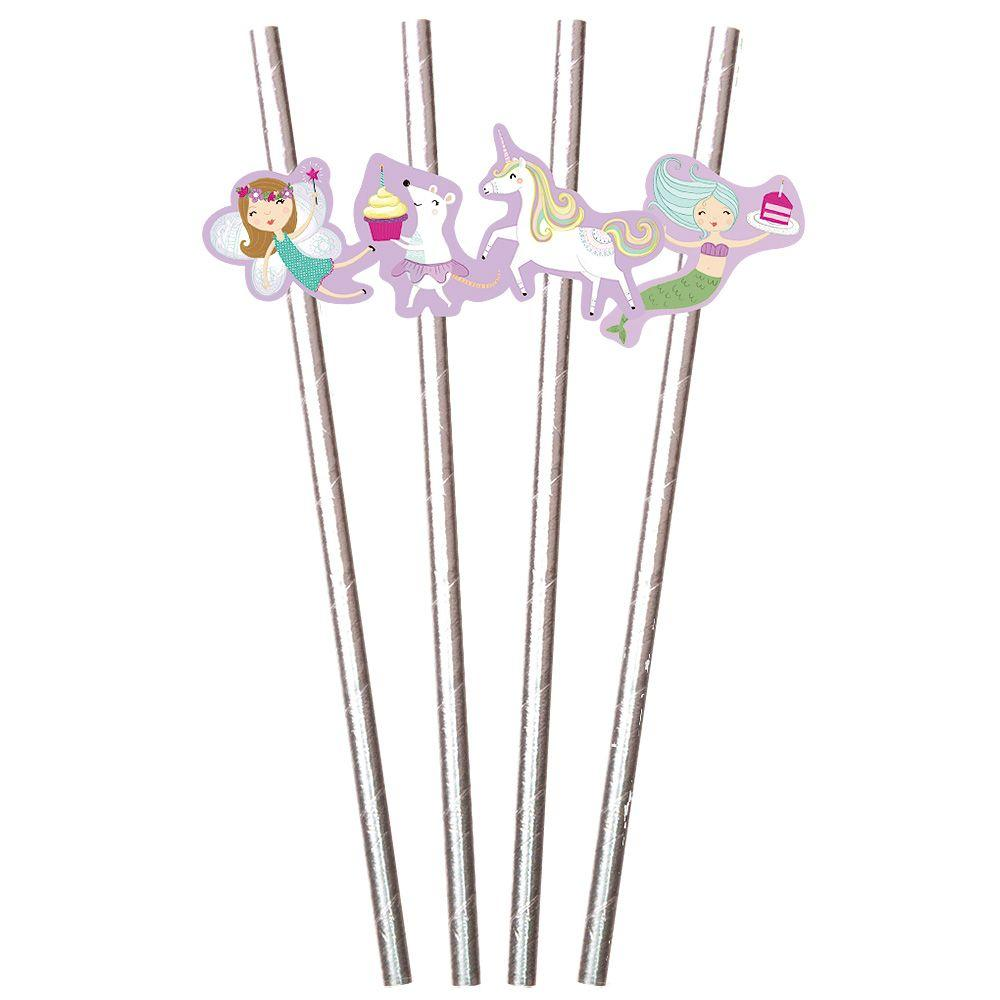 Fantastical Birthday Party Straws - the unicorn store