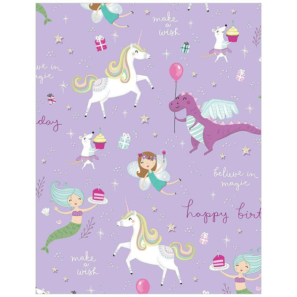Fantastical Birthday Tissue Paper - the unicorn store