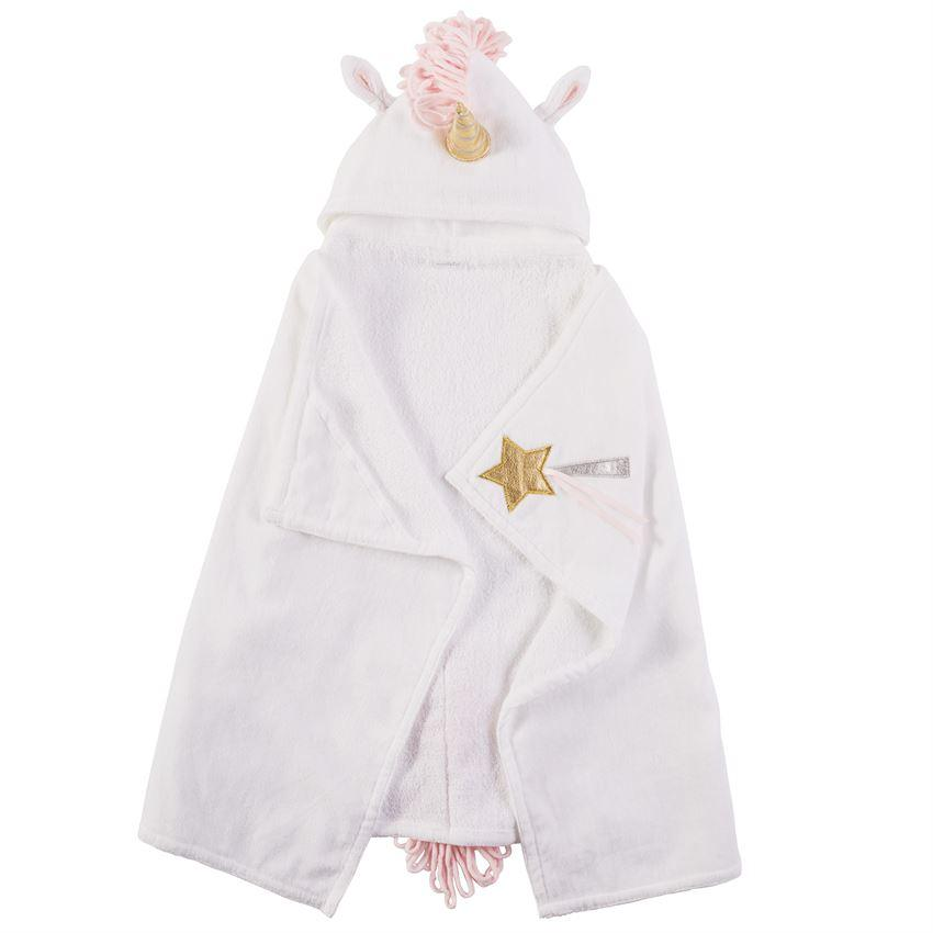 Unicorn Hooded Towel - Toddler