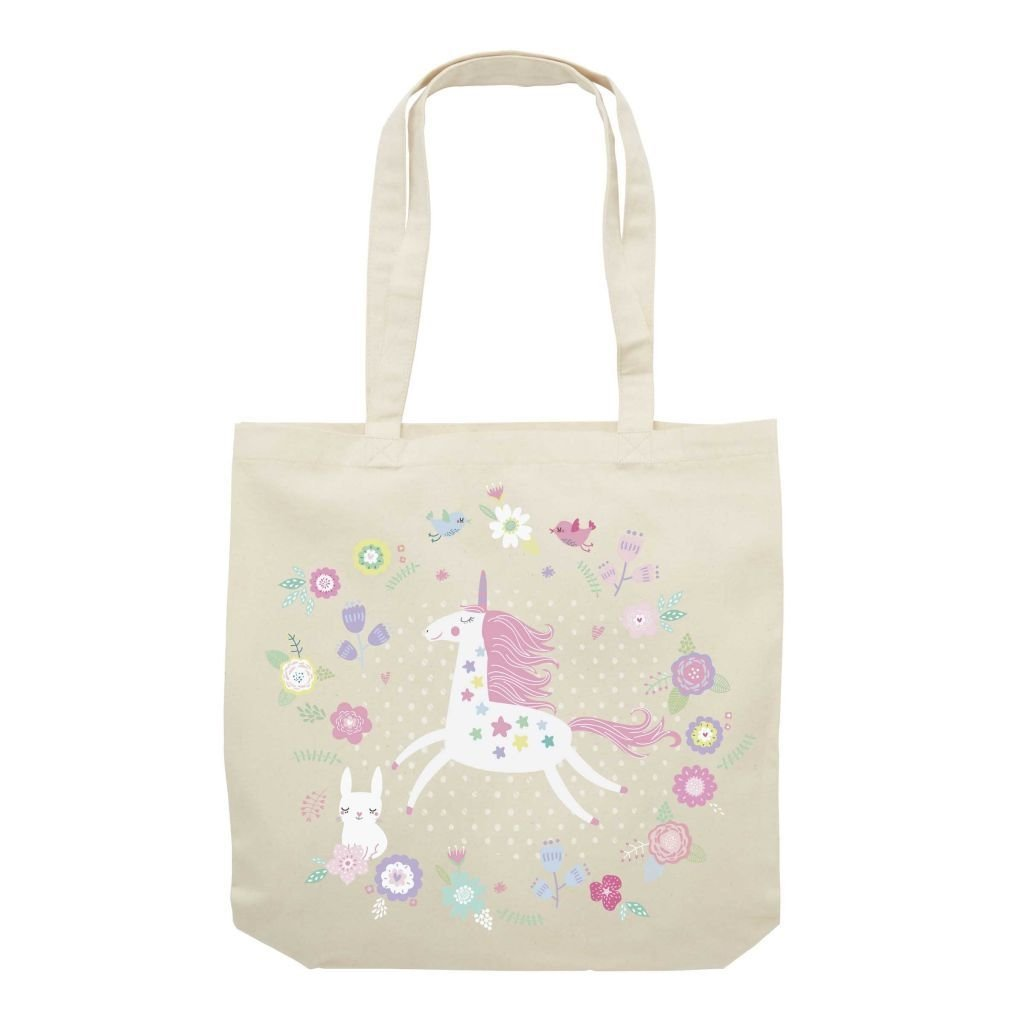 Magical Garden Canvas Tote Bag & Pouch