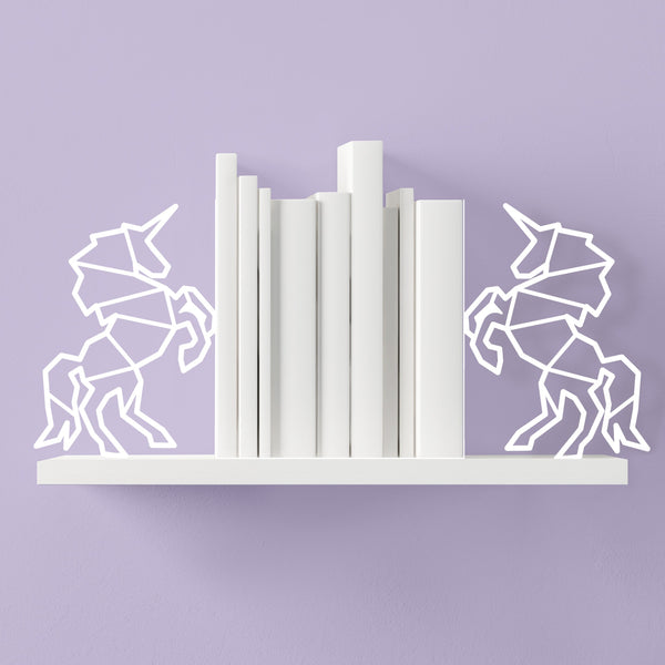 Unicorn Bookends - the unicorn store