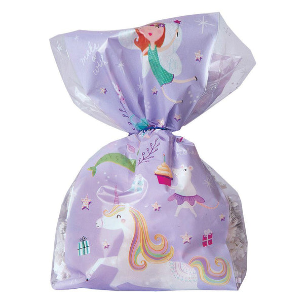 Fantastical Birthday Cello Treat Bags - the unicorn store