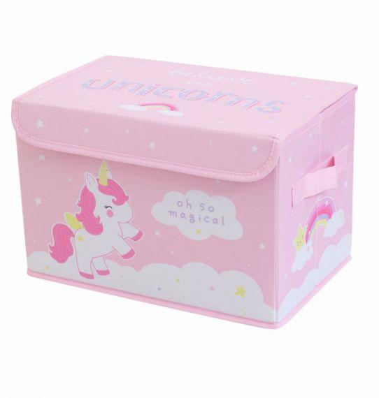 Unicorn Pop-Up Storage Box