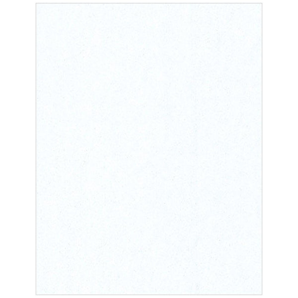 White Sparkle Solid Tissue Paper