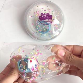 Confetti Ooze With Unicorn Ring Inside - the unicorn store