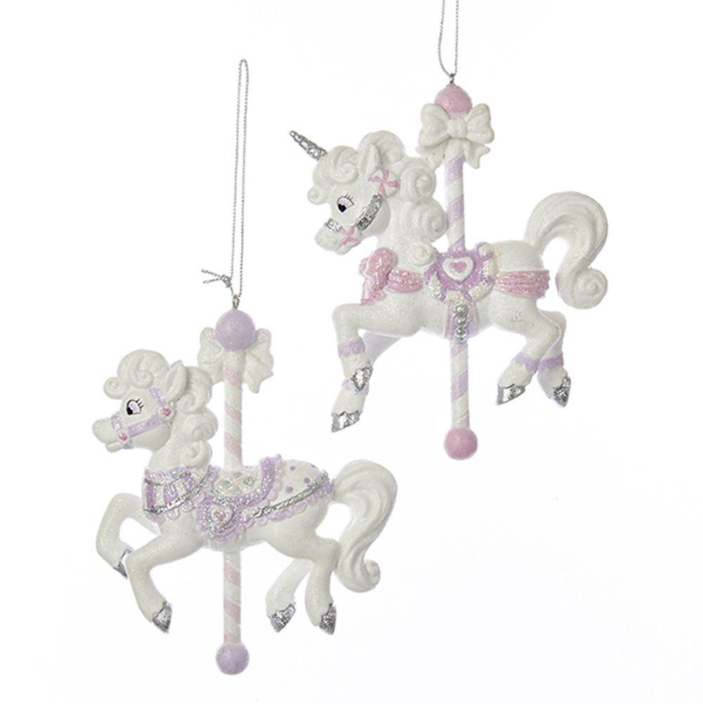 Sugar Plum Carousel Ornaments - the unicorn store
