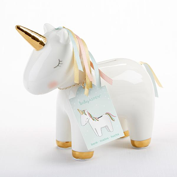 Unicorn Ceramic Bank - the unicorn store