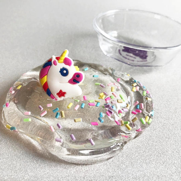 Confetti Ooze With Unicorn Ring Inside