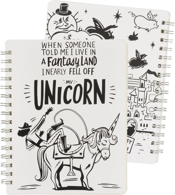 Unicorn Small Spiral Notebook