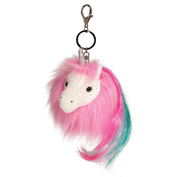 Unicorn Fur Fuzzle Pom Clips