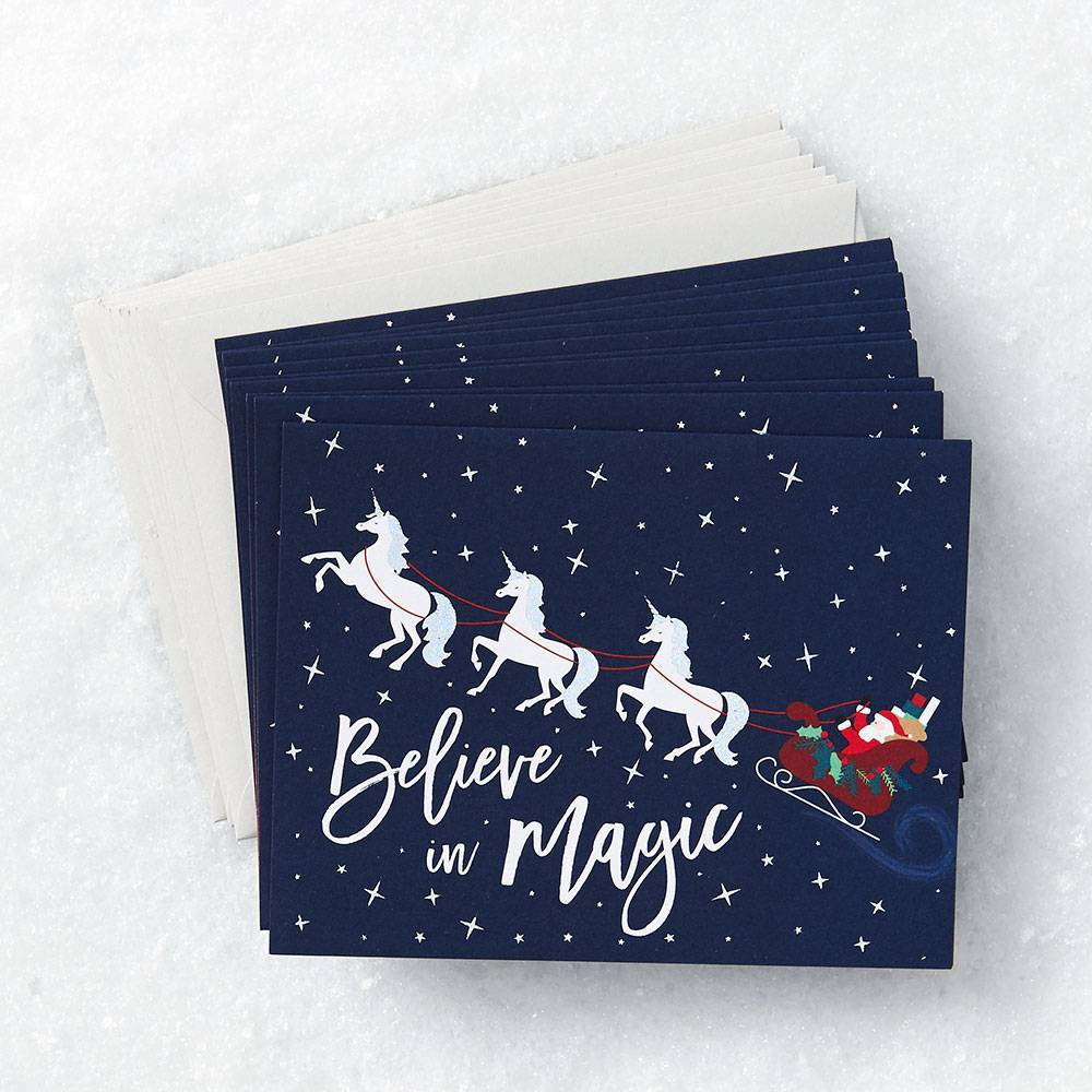 Holiday Unicorn Card Set
