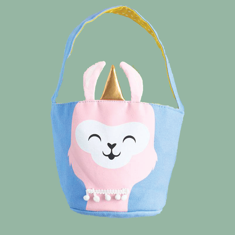 Llamacorn Basket Tote - the unicorn store