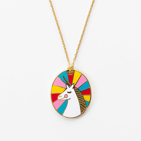Unicorn Cameo Pendant - the unicorn store