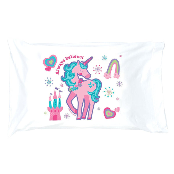 Unicorn Jersey Knit Pillowcase