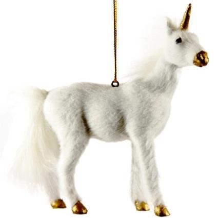 Standing Unicorn Ornament