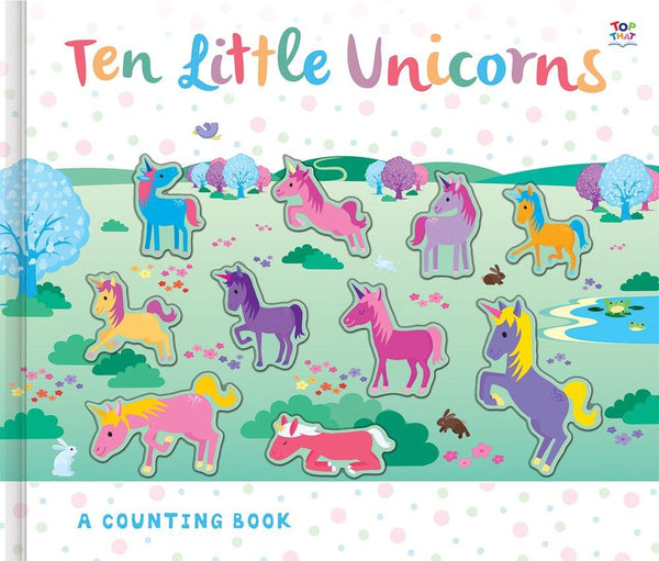 Ten Little Unicorns Counting Book - the unicorn store
