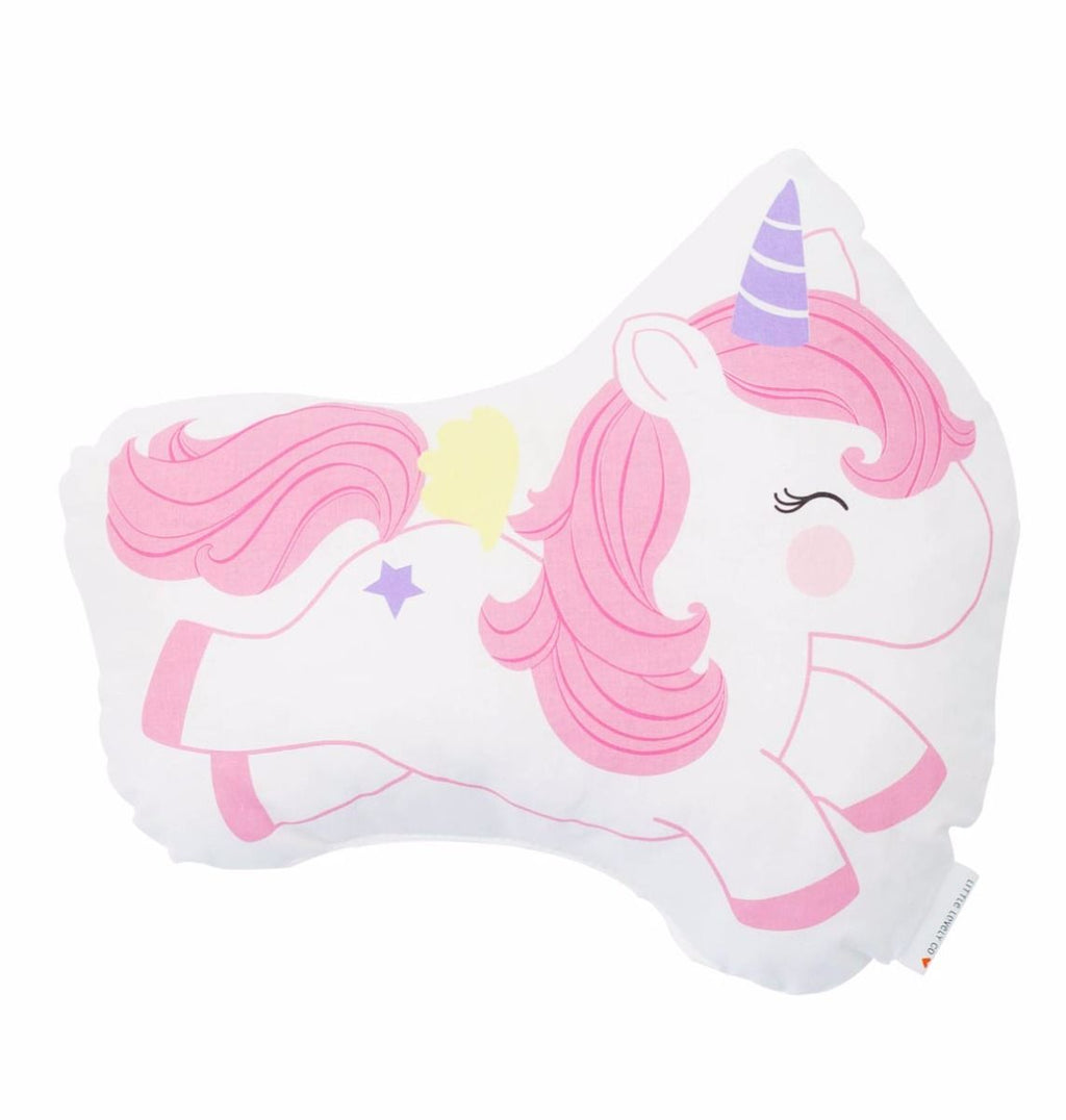 Little Jumping Unicorn Pillow