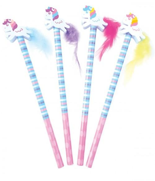 Unicorn Pencil With Eraser Topper