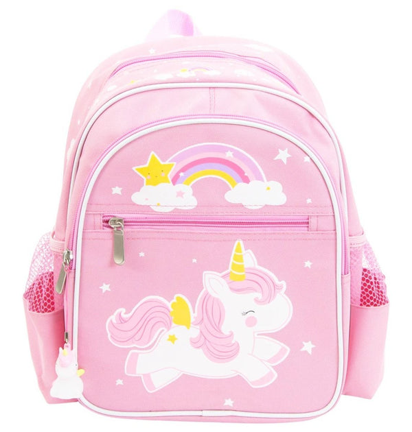 Unicorn Pink Backpack - Kids Size
