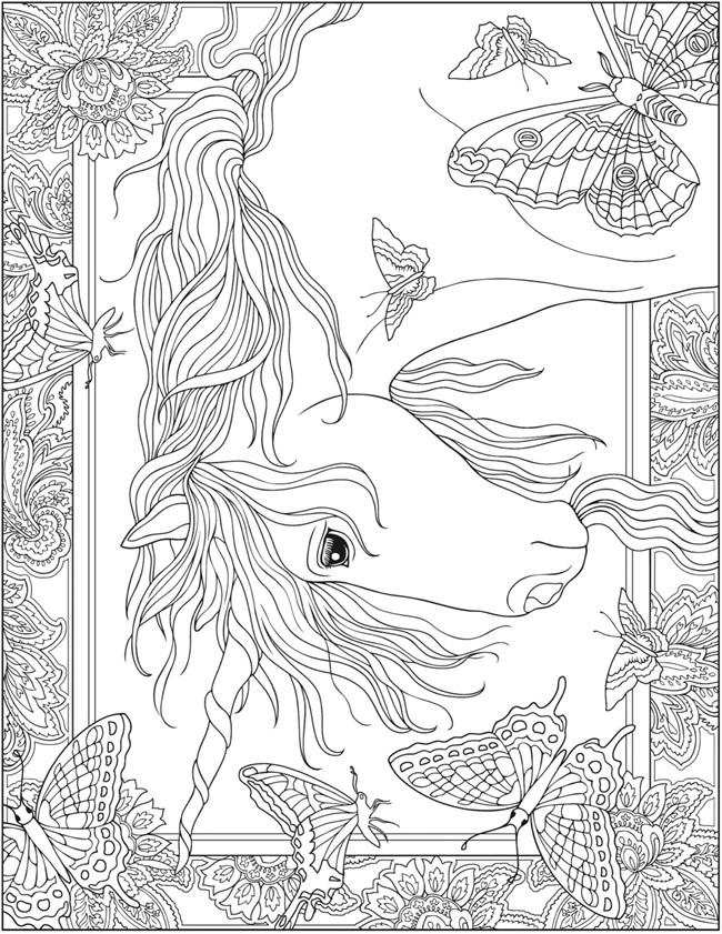 Creative Haven Unicorns Coloring Book The Unicorn Store